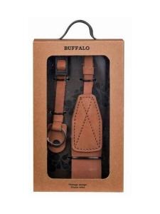 Gear - GEAR Buffalo - Nahkainen Vintage kamerahihna - Ruskea - null | Stockmann