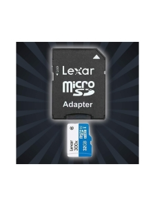 Lexar - Lexar 32GB 300x microSDHC UHS-I (U1) muistikortti - null | Stockmann