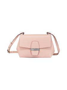 Longchamp - Roseau Box Crossbody Bag - Nahkalaukku - POWDER | Stockmann