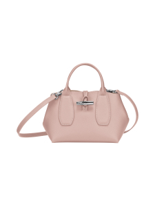 Longchamp - Roseau - Top handle bag S - Nahkalaukku - POWDER | Stockmann