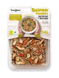 Trevijano - Kvinoa Tricolor Siitake Hasselpähkinä 250g Trevijano | Stockmann