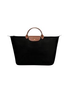 Longchamp - Le Pliage Travel Bag L -Laukku - BLACK | Stockmann