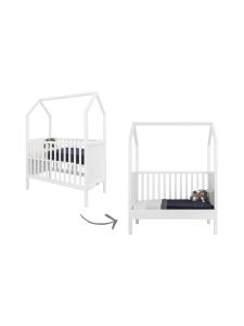 Lastenhuone.fi - My House Pinnasänky / lastensänky valkoinen, 60cm x 120cm - VALKOINEN | Stockmann