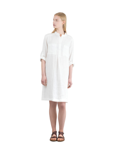 LILLE - Kukka Shirt Dress White - WHITE | Stockmann