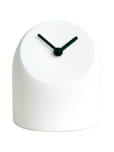 AVERI - Petit-pöytäkello, valkoinen/musta, 12cm - VALKOINEN | Stockmann