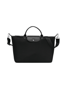 Longchamp - Le Pliage Néo Top handle bag L -Laukku - BLACK | Stockmann