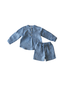 Isleande - Nagu-Paita & Shortsit - BLUE MELANGE | Stockmann