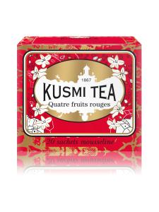 Kusmi Tea - Musta tee neljä punaista hedelmää | Stockmann
