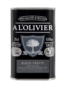 A L'Olivier - Oliiviöljy EVO Black Fruity 250ml | Stockmann