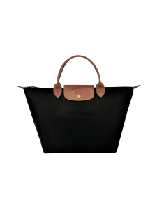 Longchamp - Le Pliage Top Handle M -Laukku - BLACK | Stockmann