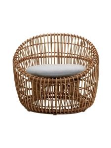 Cane-Line - Nest Round -tuoli - NATURAL, VAALEAN HARMAA | Stockmann