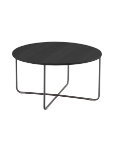 HT Collection - Nordic -sohvapöytä, Tumma ∅ 80 cm - MUSTA | Stockmann