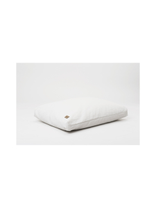 Nordic Swan Living - Syli- puuvilla/pellava lattiatyyny - VALKOINEN | Stockmann