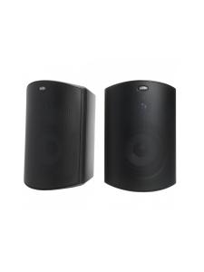Polk Audio - Polk Audio Atrium6 ulkokaiuttimet, musta pari   Stockmann