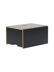 Hima Furniture - Hima Magic Boksi seisomatyöpiste - Gloss Black | Stockmann