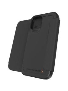 GEAR4 - Wembley Flip iPhone 12 mini -suojakuori - MUSTA   Stockmann