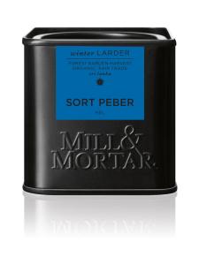 Mill & Mortar - Mustapippuri kokonainen Luomu 50g | Stockmann