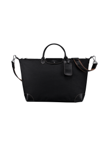 Longchamp - Boxford Travel bag L - Matkakassi - BLACK | Stockmann
