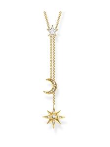 Thomas Sabo - Thomas Sabo Star And Moon Gold -kaulakoru | Stockmann