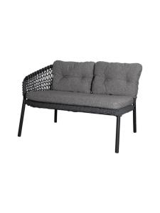 Cane-Line - Ocean -kahden istuttava sohva oikea moduli - HARMAA | Stockmann