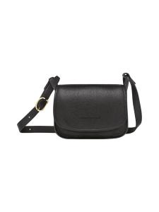 Longchamp - LE FOULONNÉ - CROSSBODY BAG S - NAHKALAUKKU - BLACK | Stockmann