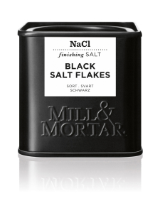 Mill & Mortar - Mustat Suolahiutaleet 80g | Stockmann