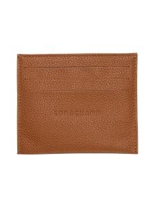 Longchamp - LE FOULONNÉ - CARD HOLDER - KORTTIKOTELO - CARAMEL | Stockmann