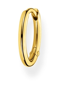 Thomas Sabo - Thomas Sabo Single Hoop Earring Classic Gold -korvakoru   Stockmann