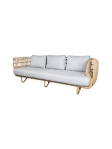 Cane-Line - Nest -kolmen istuttava sohva - BEIGE | Stockmann