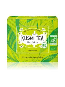 Kusmi Tea - Only Spices Luomu Pussitee 20kpl 40g | Stockmann