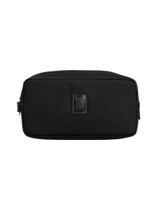 Longchamp - Boxford - Toiletry Case - Toilettilaukku - BLACK | Stockmann