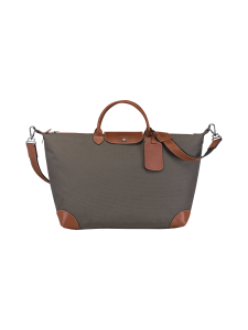Longchamp - Boxford Travel bag L - Matkakassi - BROWN | Stockmann