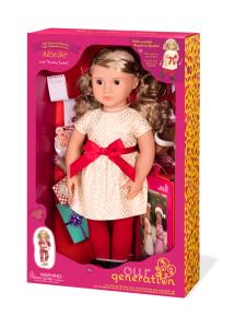 Our Generation - OUR GENERATION Noelle -nukke punaisessa haalarissa 45cm   Stockmann