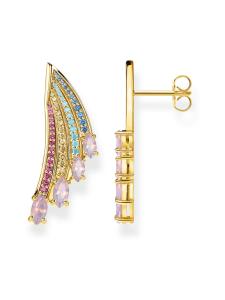 Thomas Sabo - Thomas Sabo Earrings bright gold-coloured hummingbird wing -korvakorut | Stockmann