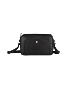 Longchamp - Le Foulonné Crossbody Bag - Nahkalaukku - BLACK | Stockmann