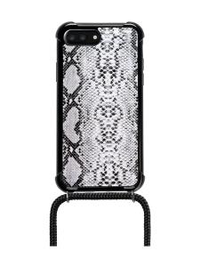 LOOKABE - Phone Necklace kotelo + kaulanauha Iphone 8/7 - SNAKE/BLACK   Stockmann