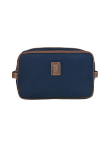 Longchamp - Boxford - Toiletry Case - Toilettilaukku - BLUE | Stockmann