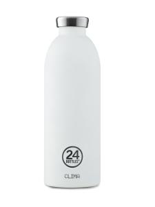 24Bottles - Clima Bottle, 0,85l -juomapullo - Ice White - VALKOINEN   Stockmann