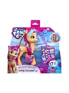 My Little Pony - MY LITTLE PONY Ponihahmo Rainbow Reveal Sunny, 15 cm   Stockmann