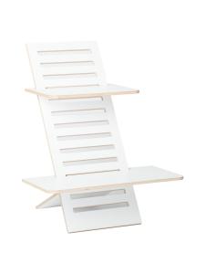 Hima Furniture - Hima Big Lifter seisomatyötaso - Brilliant White | Stockmann