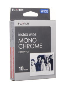 Fujifilm - Fujifilm Instax Wide Film Monochrome (10 kuvaa) pikafilmi | Stockmann