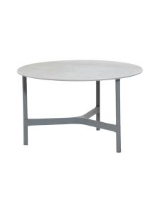 Cane-Line - Twist -sohvapöytä 70 halk x 42 cm - VAALEA HARMAA, FOSSIL GREY KUVIOITU HARMAA | Stockmann