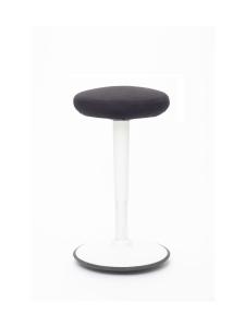 Stoo® Active Ergonomics - Stoo® Round aktiivituoli - Korkea 57 - 86 cm, valkoinen/musta | Stockmann