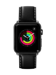 Laut - Oxford Apple Watch (42/44 mm) -nauha (musta) | Stockmann