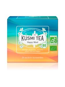 Kusmi Tea - Happy Mind Luomu Pussitee 20kpl 40g | Stockmann
