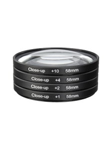 Walimex - Walimex Close-up Macro Lens Set - 58mm lähikuvalinssipakkaus - null | Stockmann