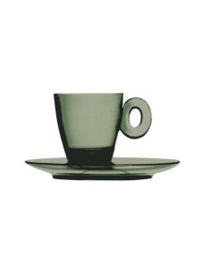 Mepra - Policarbonato-espressokuppi ja aluslautanen - ONYX | Stockmann