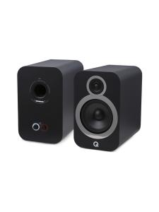 Q Acoustics - Q Acoustics Q3030i hyllykaiutin, musta | Stockmann