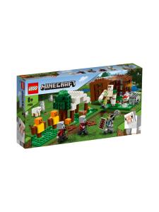Lego Minecraft - LEGO MINECRAFT Pillagerien linnake 21159   Stockmann