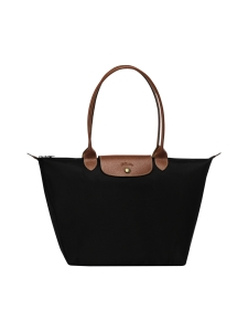 Longchamp - Le Pliage Shoulder Bag L - Laukku - BLACK | Stockmann